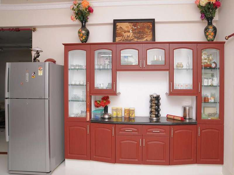 Crockery Cabinet With Granite