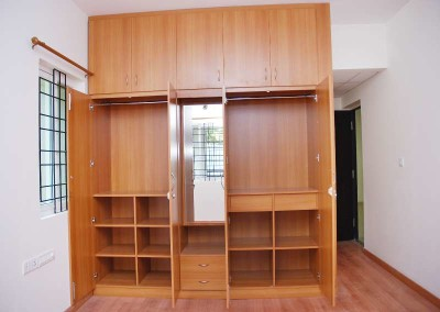 Wardrobe with 2 Doors & Dressing Table