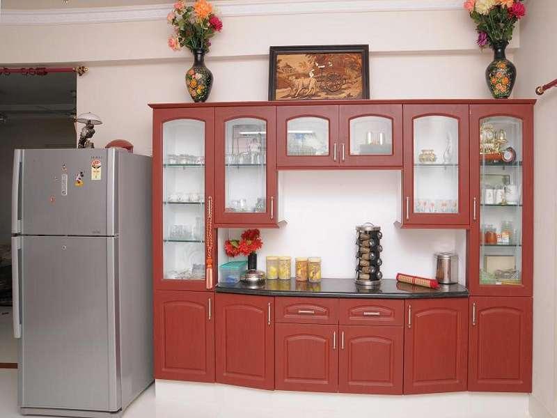 Crockery Cabinet with granite