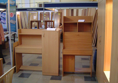 Study table with book racks
