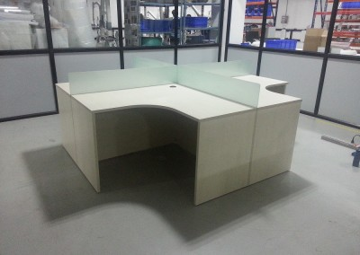 Four seater Workstation